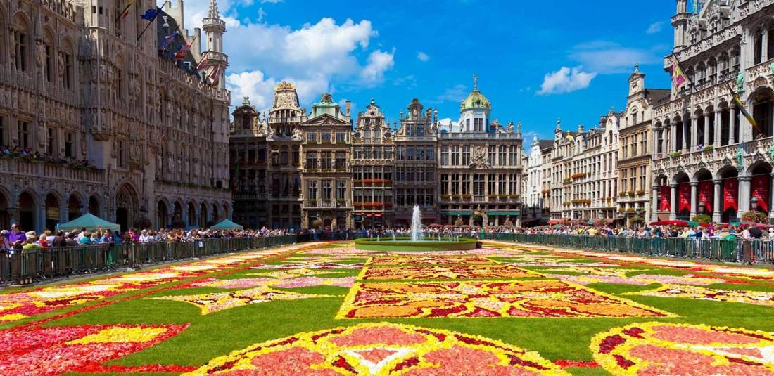 Белгия-самолетни екскурзии