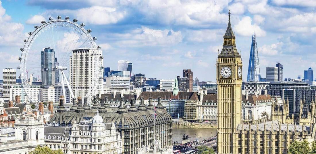 Лондон самолет на супер цени