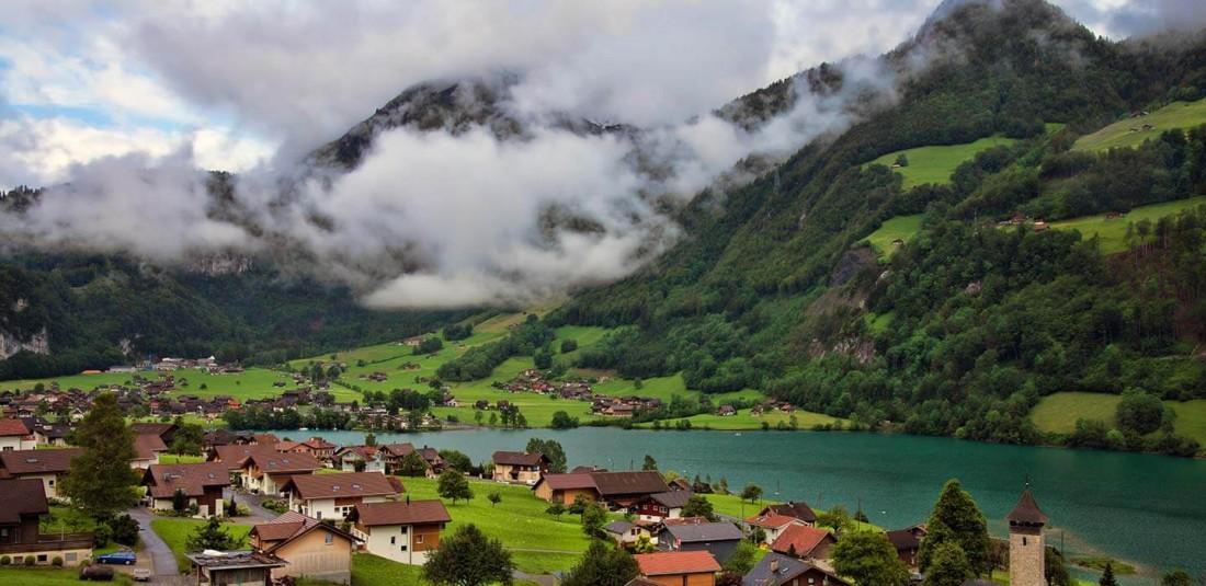Швейцария-самолетни екскурзии
