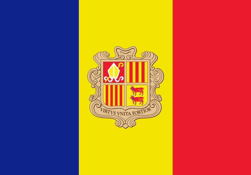 Флаг Андора