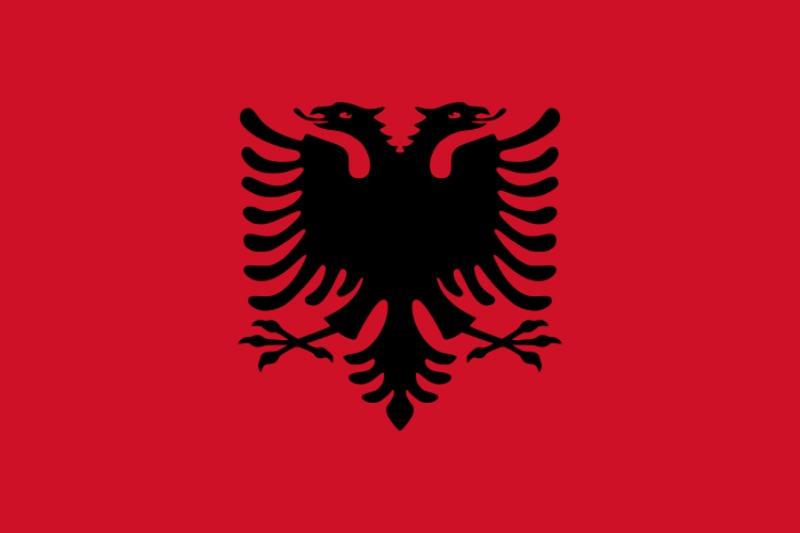 Флаг Албания
