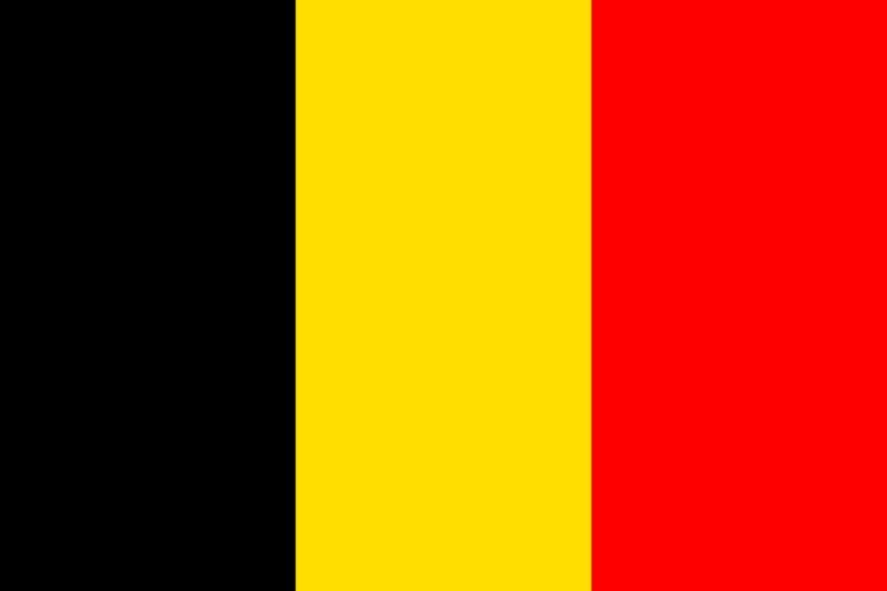 Флаг Белгия