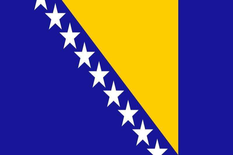 Флаг Босна и Херцеговина