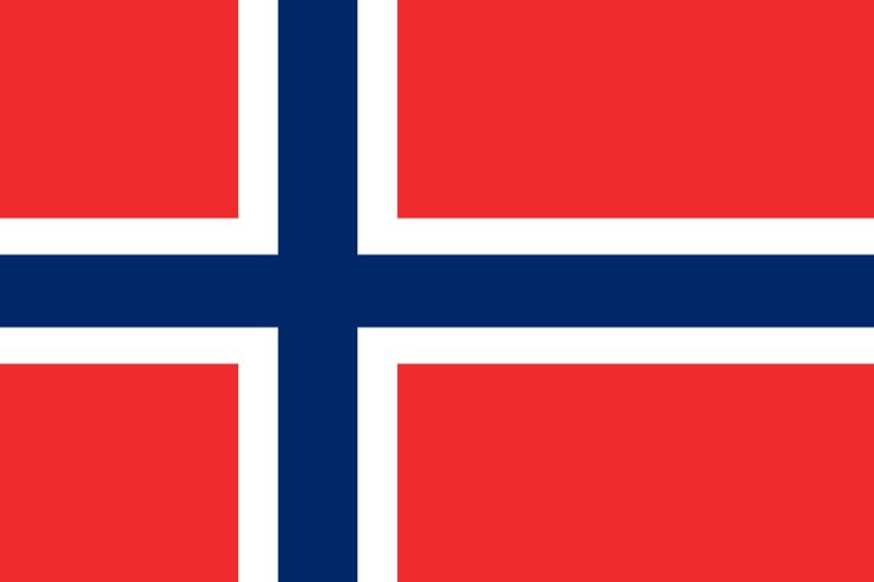 Флаг Норвегия