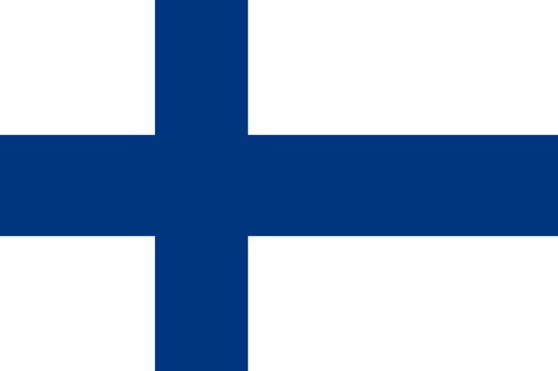 Флаг Финландия