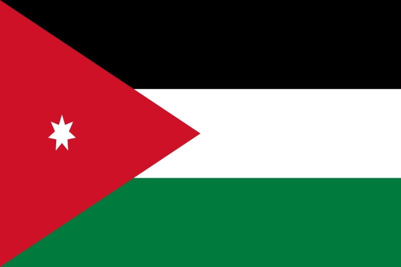 Флаг Йордания