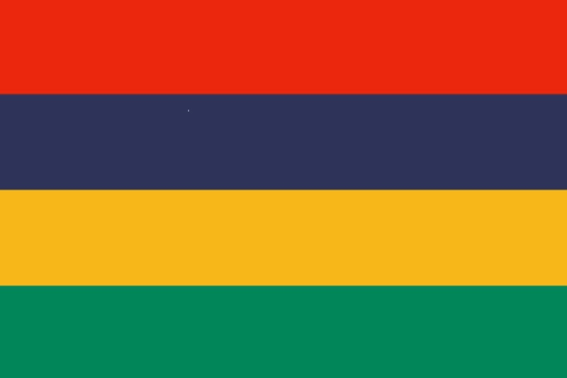 Флаг Мавриций