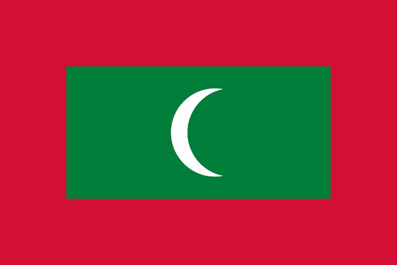 Флаг Малдиви