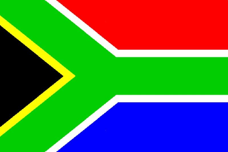 Флаг Южна Африка