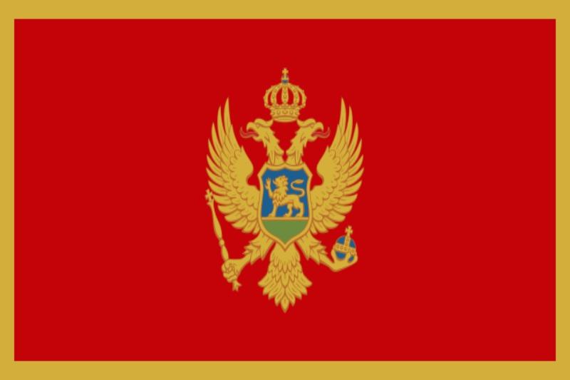 Флаг Черна гора