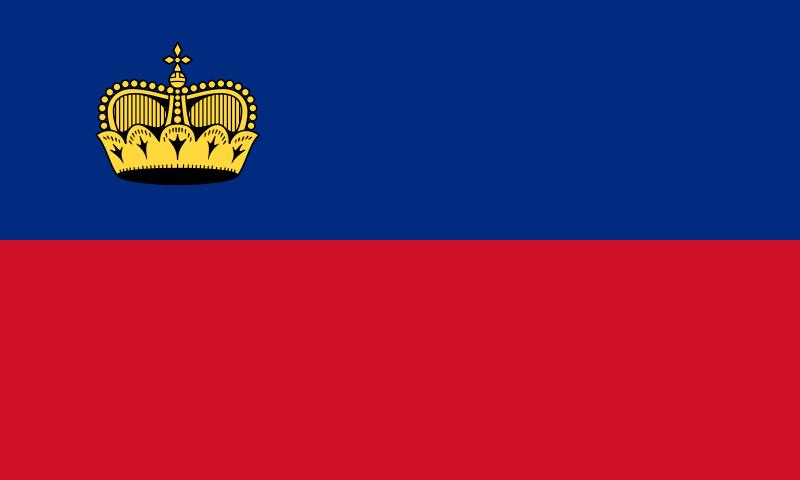 Флаг Лихтенщайн
