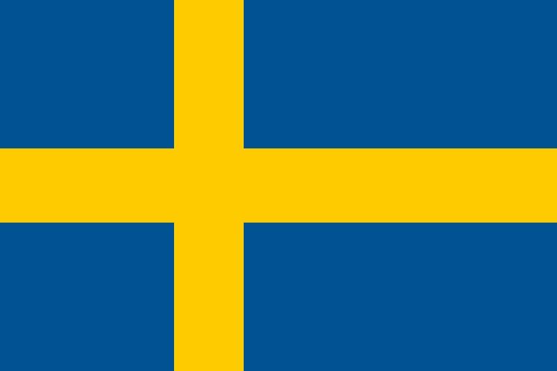Флаг Швеция
