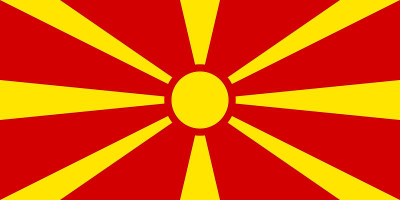 Флаг Република Македония
