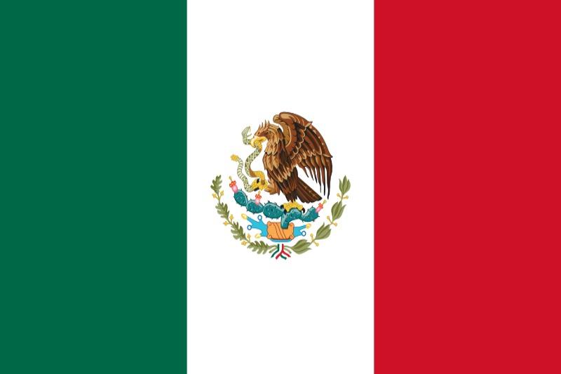 Флаг Мексико