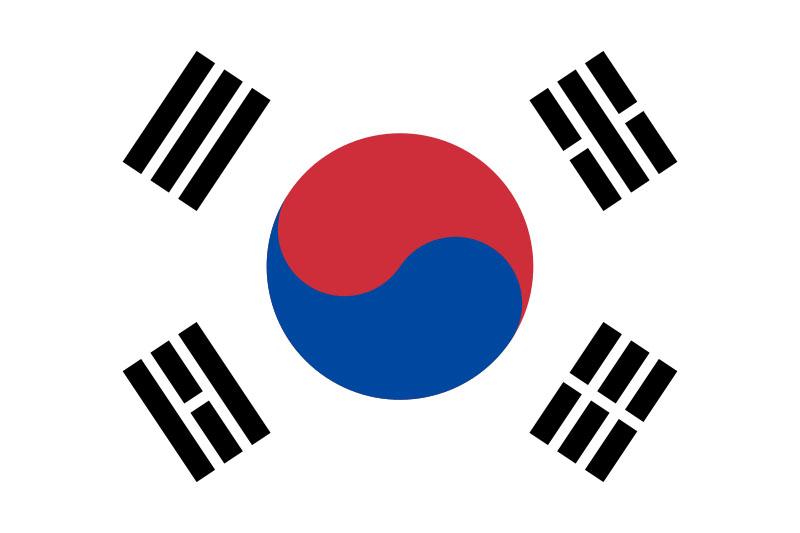 Флаг Южна Корея