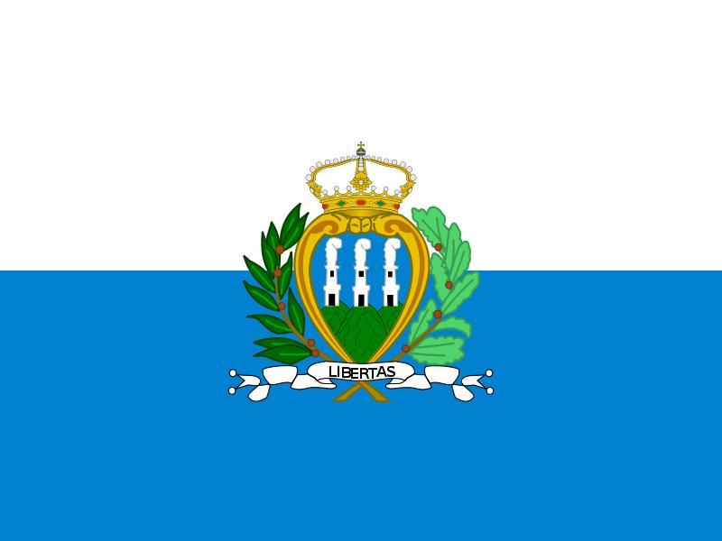 Флаг Сан Марино