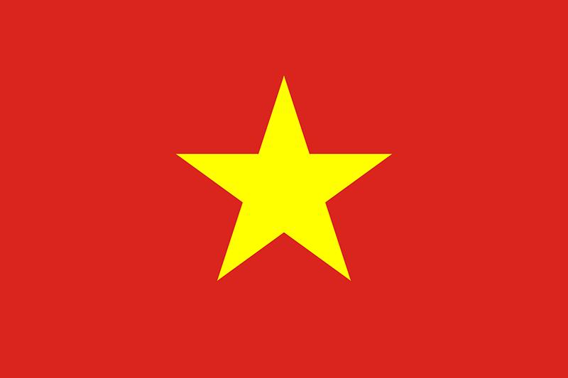 Флаг Виетнам