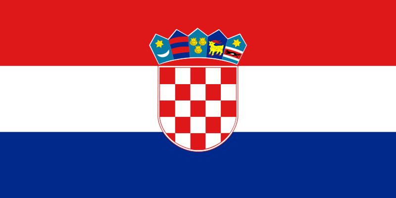 Флаг Хърватия