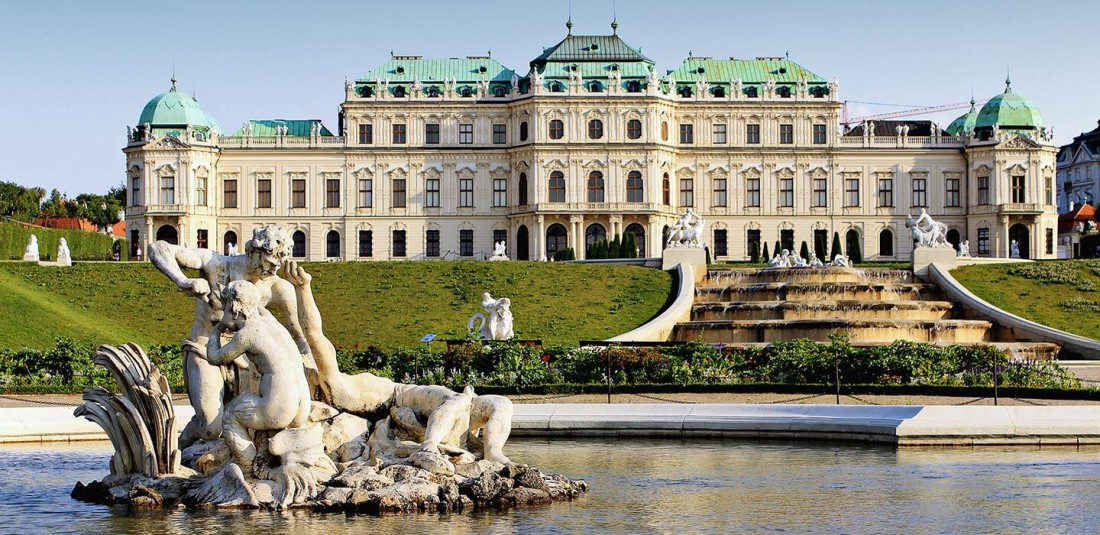 Париж - Виена - Залцбург - стандартен вариант