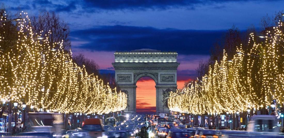 Париж - ноемврийска промоция Коледни светлини