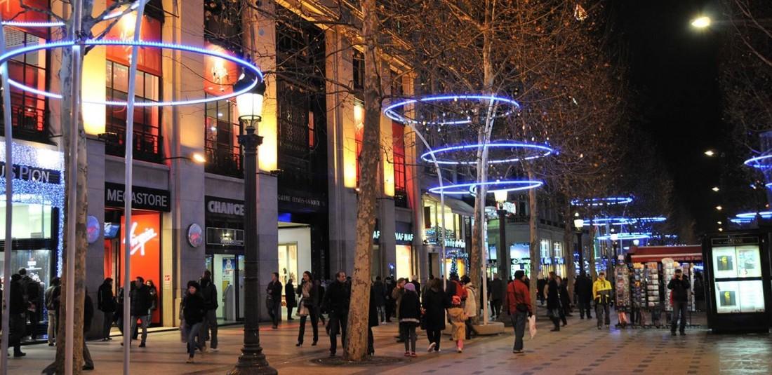 Париж - ноемврийска промоция Коледни светлини 4