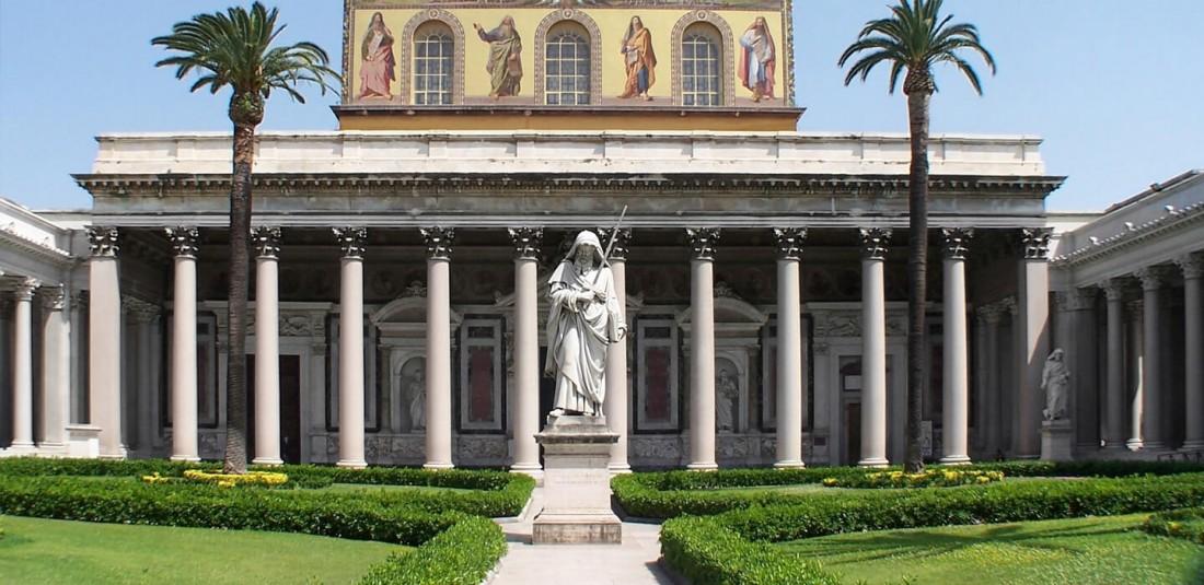 """Катедралата """"Сан Паоло фуори ле Мура"""""""