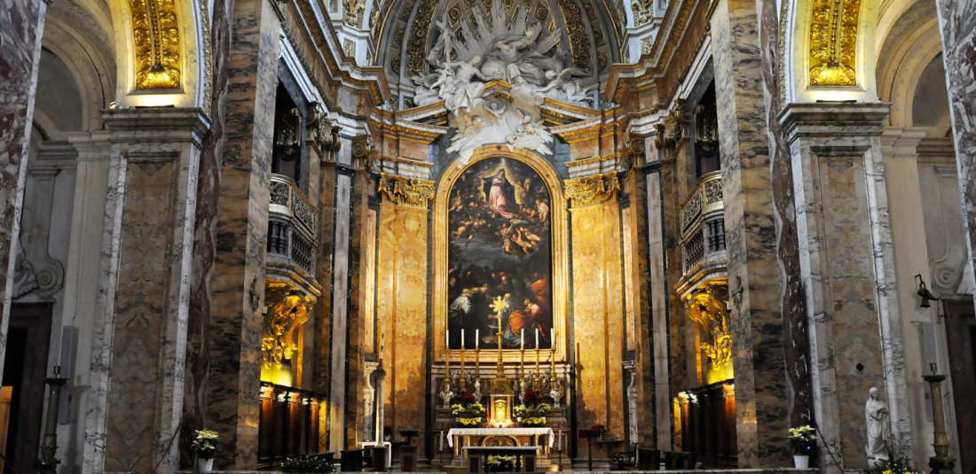 """Църквата """"Сан Луиджи деи Франчези"""