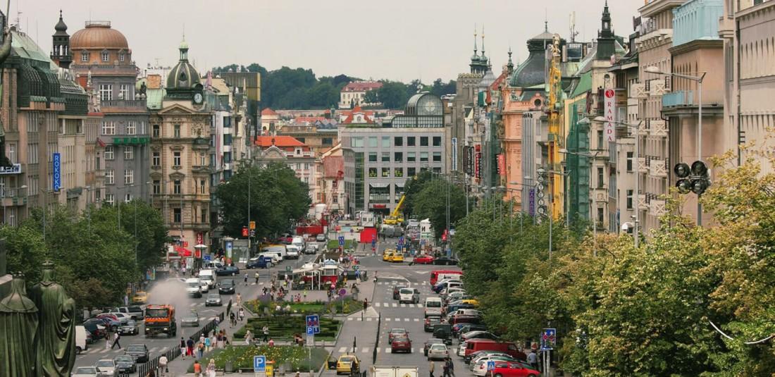 Лято в Прага 3