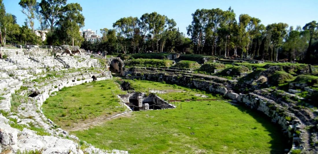 Археологическият парк делла Неаполис в Сиракуза