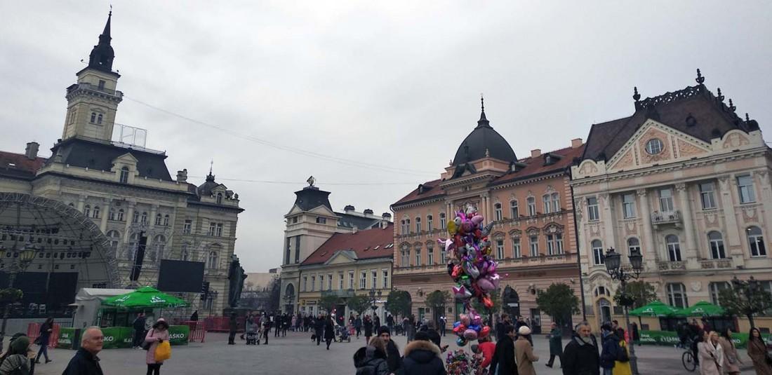 Будапеща - Белград - Нови Сад - предколедна