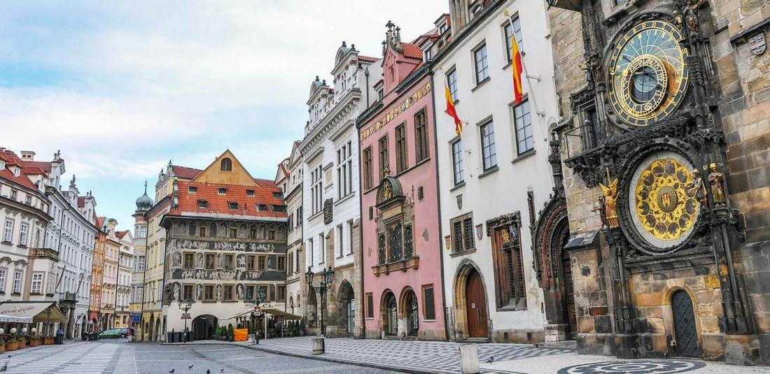 Прага - на полупансион