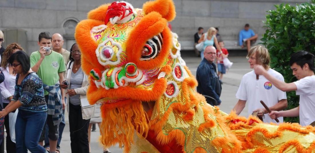 Китайската Нова година в Лондон