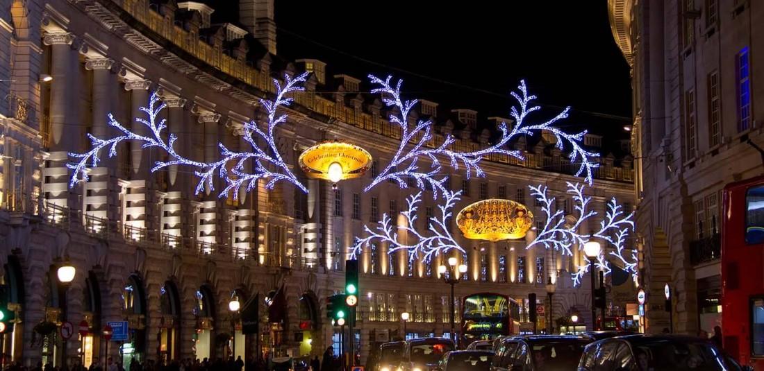 Коледа - Лондон