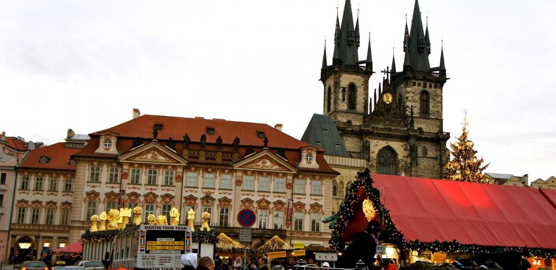 Коледа - Прага - Братислава - Будапеща - Виена