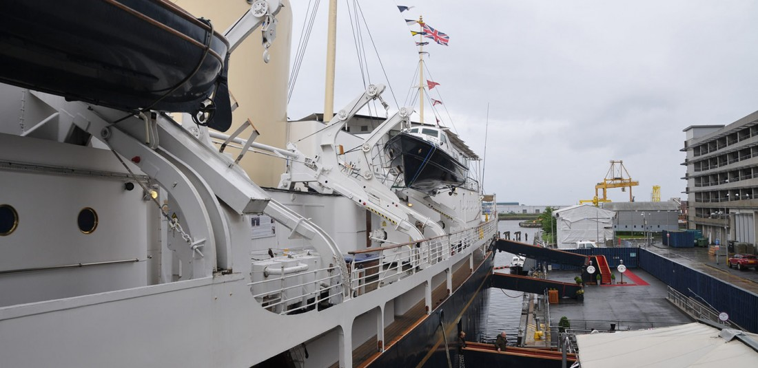 """Кралската яхта """"Британия"""""""
