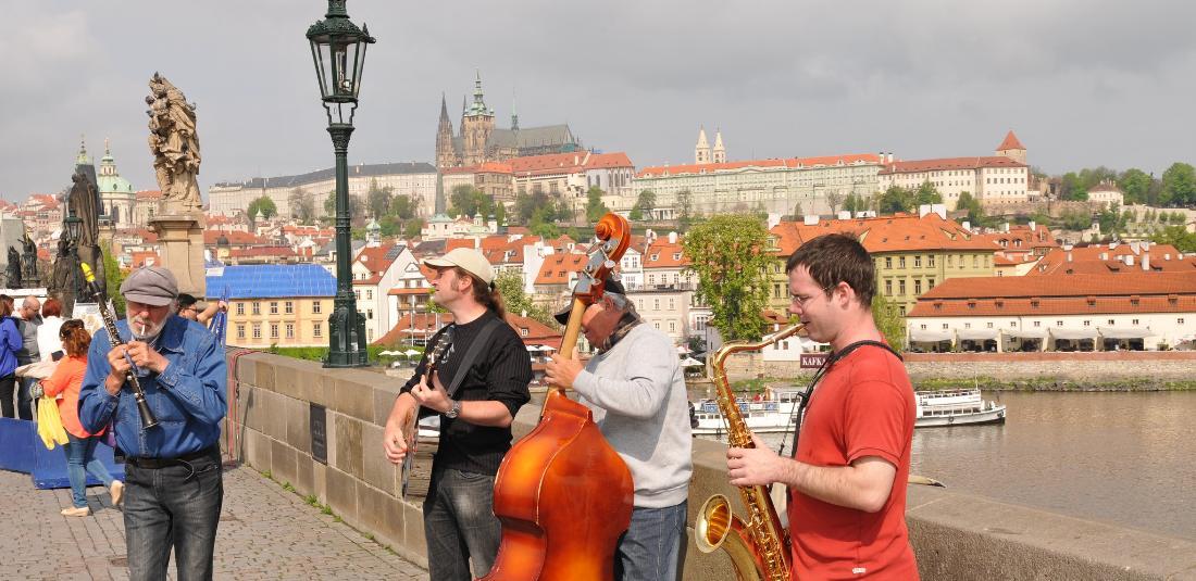 Лято в Прага