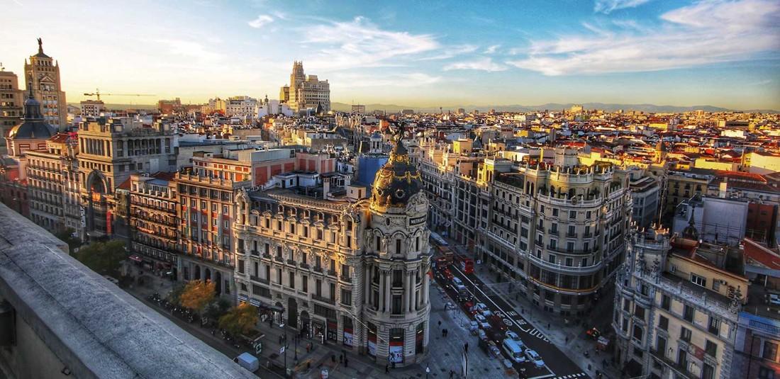 Мадрид през ноември