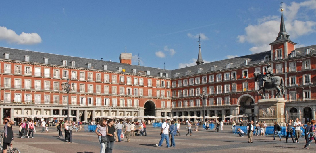 Мадрид през ноември 2