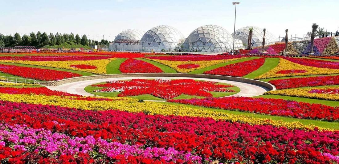 Магическите градини в Дубай