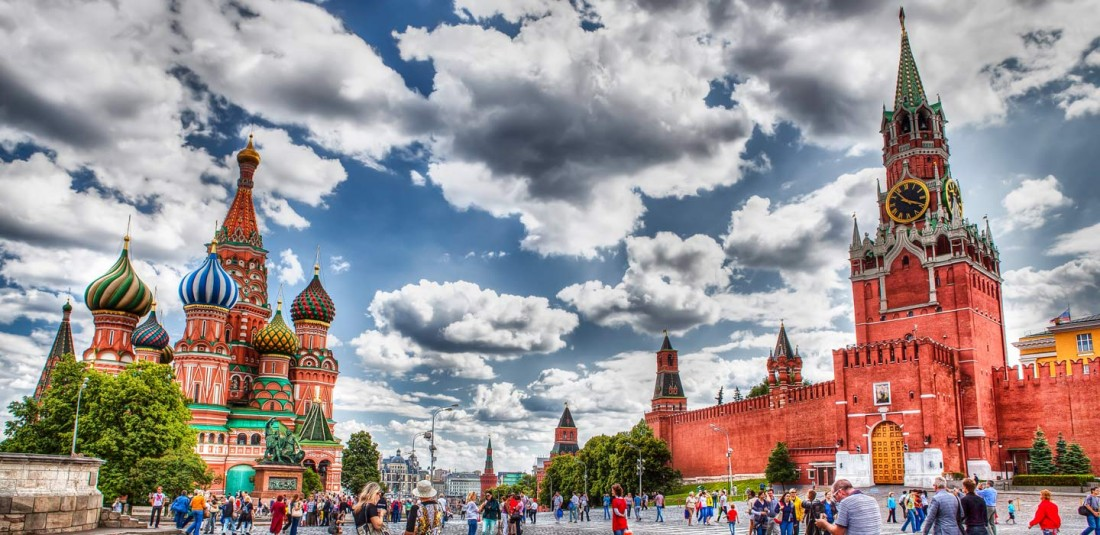 Москва и Санкт Петербург 2