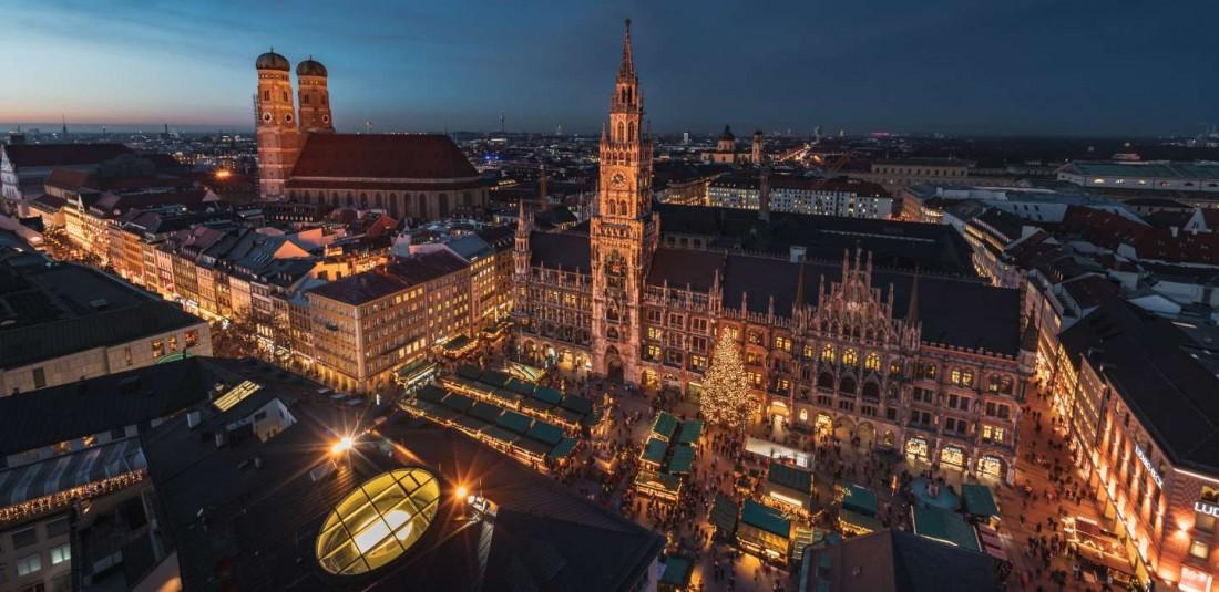 Мюнхен - Нюрнберг - Баварски кралски замъци - Предколедна