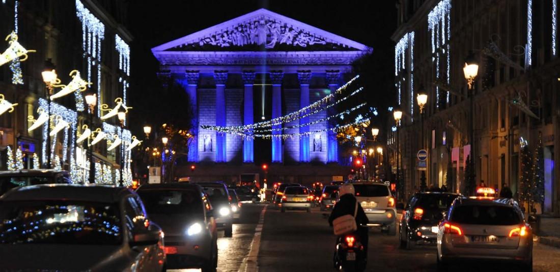 Париж - ноемврийска промоция Коледни светлини 3
