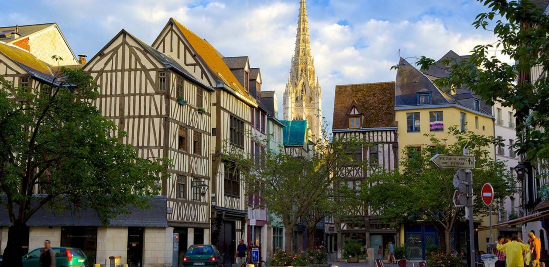 Париж и разцъфналия бряг на Нормандия 6