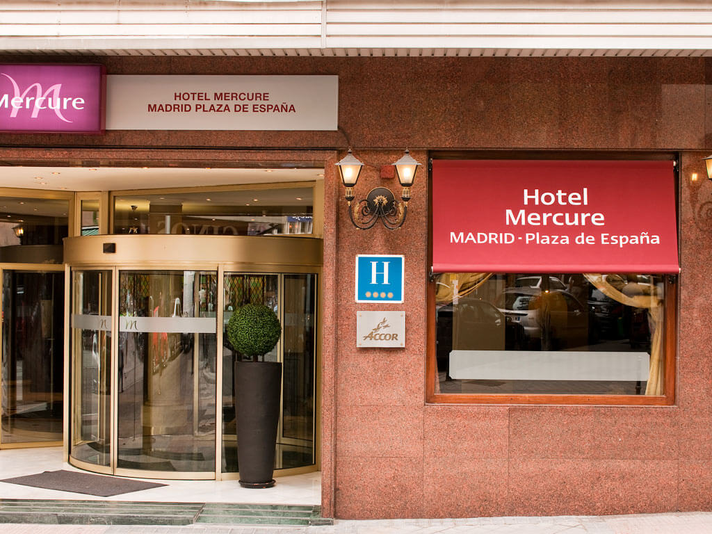 Mercure Madrid Plaza de Espana****