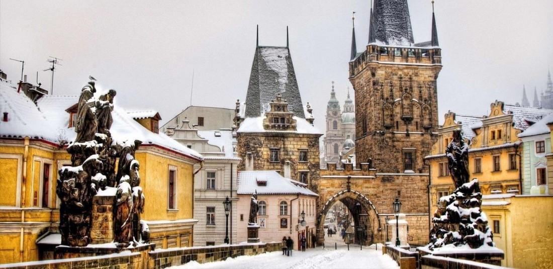 Прага - предколедна