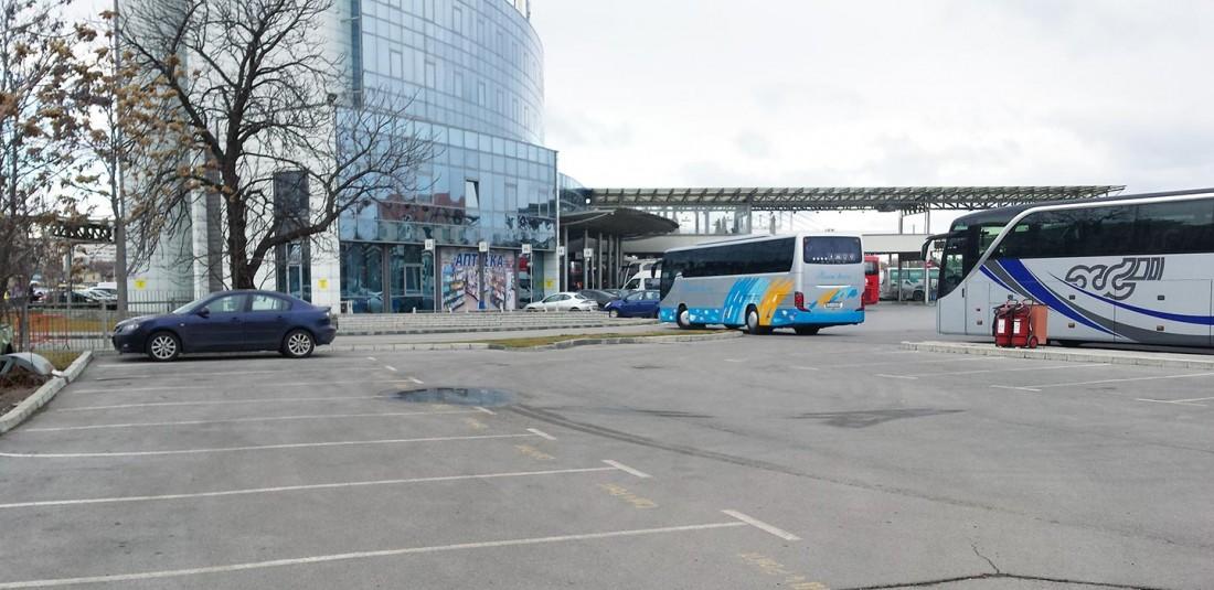 Centralna Avtogara Sofiya Sektor Parking Rual Travel