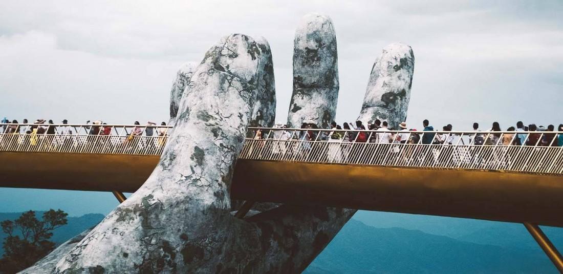 Виетнам и Камбоджа с Дананг и Златния мост