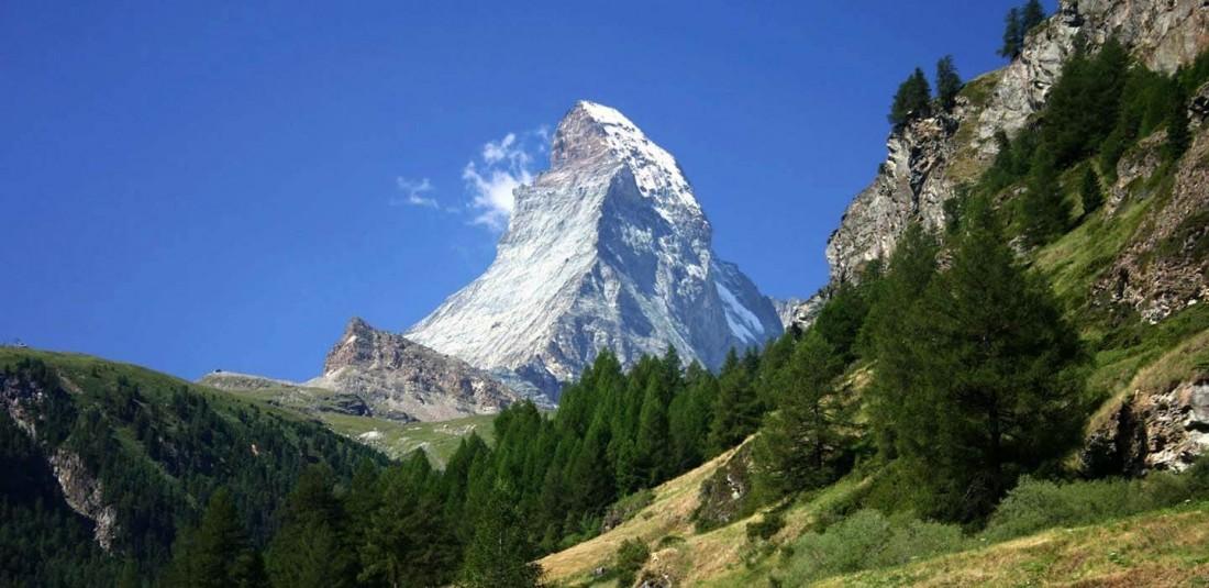 Швейцарски Алпи - Юнгфрау и Матерхорн