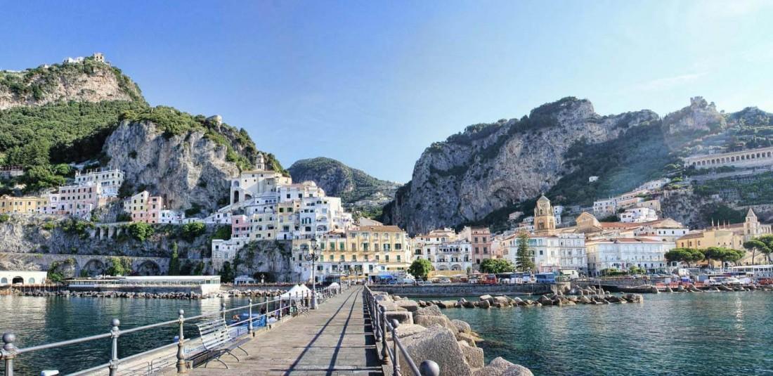 Южна Италия и Амалфийска ривиера с остров Иския