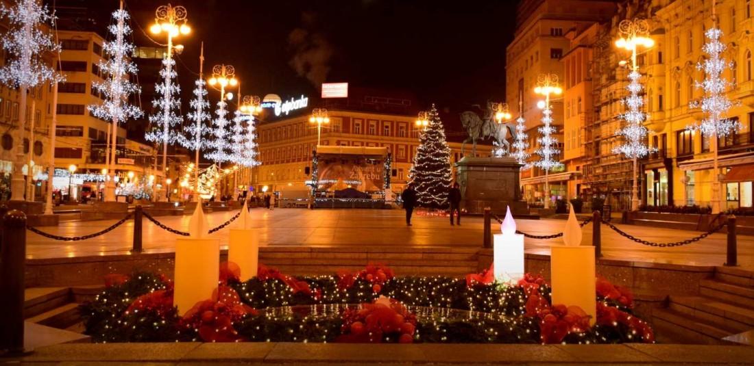 Загреб - Коледни базари
